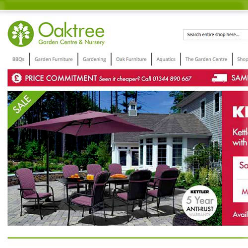 Oaktree Garden Center